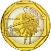 Guatemala, 50 Quetzales, 1995, Tower, SPL, Tri-Metallic, KM:3c.1 - Guatemala