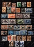 Etats-Unis Belle Collection D'anciens 1861/1924. Nombreuses Bonnes Valeurs. A Saisir!
