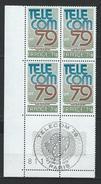"""Coins Datés FDC YT 2055 """" Télécom """" Neuf** Paris 22 SEPT 1979 - Coins Datés"""