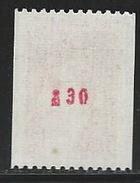 MZ--895-.  N° 1981Ba .  *   * ,   TTB,  ( N° Rouge 830) Cote 4.00 €, Voir Scan Pour Detail,