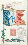Carte Maximum  Semaine Nationale Des P.T.T. Paris - France