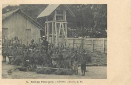 CP CONGO FRANCAIS LEKETI RECOLTE DU RIZ