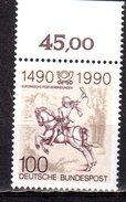 Bund 1990 Mi. 1445 ** Postverbindungen In Europa Postfrisch (pü2649)