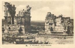MAROC VOLUBILIS RUINES ROMAINES