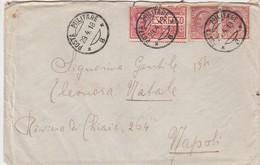 Italie Lettre Militaire Par Exprès 1918 - Marcophilia