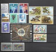 COLECCION 7 O.N.U LOTE NACIONES UNIDAS SEDE VIENA NUEVO MNH 1994 AÑO COMPLETO 36,00€,VENDO CON 75 DE DESCUENTO DEL
