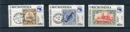 Micronesia 1984 Posta Aerea Esposizione Filatelica Di Melbourne Mnh