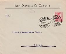 Suisse Entier Postal Privé 1911