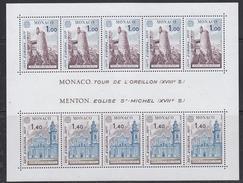 Europa Cept 1977 Monaco M/s ** Mnh (F6315)