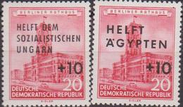 Germany DDR 1956 - Aiuti MNH