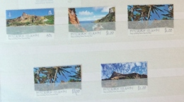 PITCAIRN ISLANDS 2013 Scenes Set Mnh + $1 Used 2 Scans