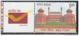 INDIA, 2014, MY STAMP,1 Stamp, RED FORT, Pink Sandstone Structure, DELHI, Limited Issue, MNH(**)