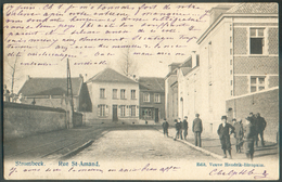 TB Carte De STROMBEEK  Rue Saint-AMAND 1905 Vers Chaudfontaine  -  11807 - Zonder Classificatie