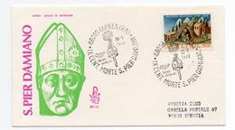 """1972 - FDC """" S. PIER DAMIANO """" VENETIA VIAGGIATA VEDI++++"""
