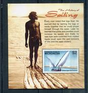 Micronesia 2005 BF 154C Storia Della Navigazione Mnh