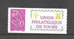 P117 Marianne De Lamouche N°3802C Adhésif Personnalisé UPT
