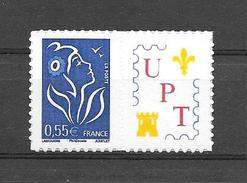 P124 Marianne De Lamouche N°3802Da Adhésif Personnalisé UPT