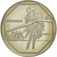 Guatemala, 50 Quetzales, 1995, Tower, SPL, Copper-nickel, KM:3f.1 - Guatemala