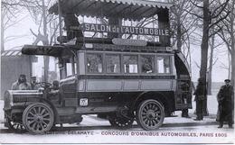 75 - Paris  8 -Voiture DELAHAYE- Concours D'Omnibus ; Station Cours-la-Reine . - Transport Urbain En Surface