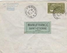 Viet Nam Affranchissement Recto Verso Lettre De DA NANG 8/4/1962 Pour St Etienne France