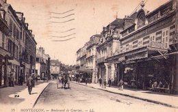 03 - MONTLUCON - Boulevard De Courtais - Belle Animation - Montlucon
