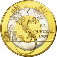 Guatemala, 10 Quetzales, 1995, Tower, SPL, Tri-Metallic, KM:2c.2 - Guatemala