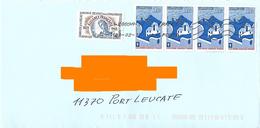 4 Timbres 1977 Jeune Chambre économique Française Utilisés En 2017 + Alliance Française 1983 - Curiosidades: 1970-79 Usados
