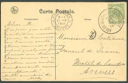 CP Obl. Sc Ambulant ARLON-BRUXELLES (BRUSSEL) 2 - 11819 - Postmark Collection
