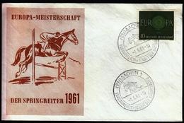 Germany Aachen 1961 / Horses / Equestrian / European Championship / Europa Meisterschaft Der Springreiter