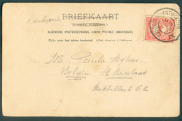 PAYS-BA CP Obl. Dc Ambulant AMSTERDAM-ANTWERPEN IX - 11821 - Postmark Collection