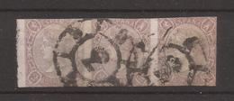 1865 Clasico Isabel II Edifil 73(*) Matasellos Rueda Numerada 3 VC 138,00€ - 1850-68 Kingdom: Isabella II