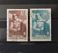 France N° 386 - 387 - Cote : 11 Euros - Used Stamps