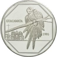Guatemala, 50 Quetzales, 1995, Tower, SPL, Aluminium, KM:3d.1 - Guatemala