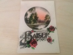 Cpa Paysage Et Fleurs - Botanik
