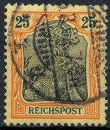 GERMAN REICH 1900 25pf REICHSPOST  Used Lot#1