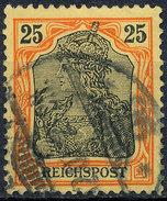 GERMAN REICH 1900 25pf REICHSPOST  Used Lot#3