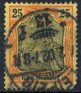 GERMAN REICH 1900 25pf REICHSPOST  Used Lot#4