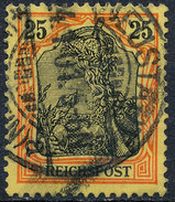 GERMAN REICH 1900 25pf REICHSPOST  Used Lot#5