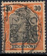 GERMAN REICH 1900 30pf REICHSPOST  Used Lot#7