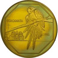 Guatemala, 50 Quetzales, 1995, Tower, SPL, Laiton, KM:3a.2 - Guatemala