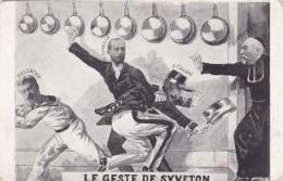 Syveton French Political Scandal 'Le Geste De Syveton' General Andre, C1900s Vintage Postcard - Events