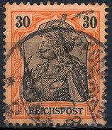 GERMAN REICH 1900 30pf REICHSPOST  Used Lot#12