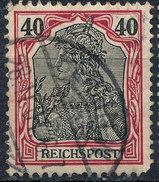 GERMAN REICH 1900 40pf REICHSPOST  Used Lot#16