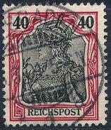 GERMAN REICH 1900 40pf REICHSPOST  Used Lot#17