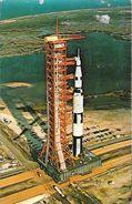 John F. Kennedy Space Center - N.A.S.A - Aerial View - Apollo Saturn V - Espace
