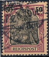 GERMAN REICH 1900 50pf REICHSPOST  Used Lot#18