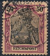 GERMAN REICH 1900 50pf REICHSPOST  Used Lot#19