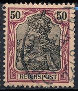 GERMAN REICH 1900 50pf REICHSPOST  Used Lot#21