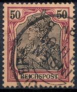 GERMAN REICH 1900 50pf REICHSPOST  Used Lot#23