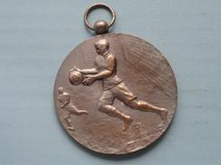 K.V.S.O.V. 1936 - 1937 ( Zilverkleur - 45.1 Gr. J.F. - H.Heuse..... / Zie Foto ) - Tokens & Medals